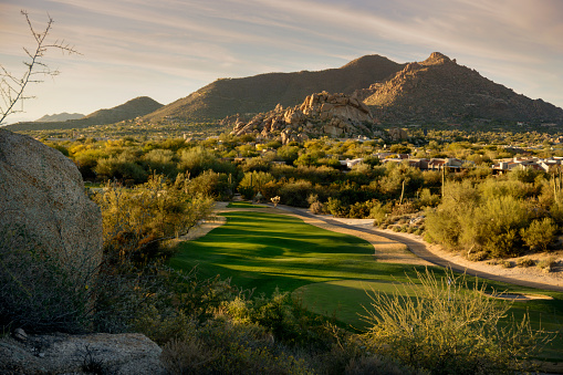 Golf Coures Mountain View Scottsdale AZ