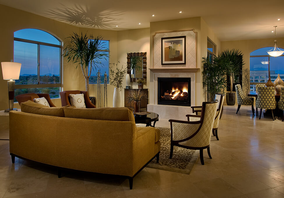 The Landmark Luxury Lounge Room