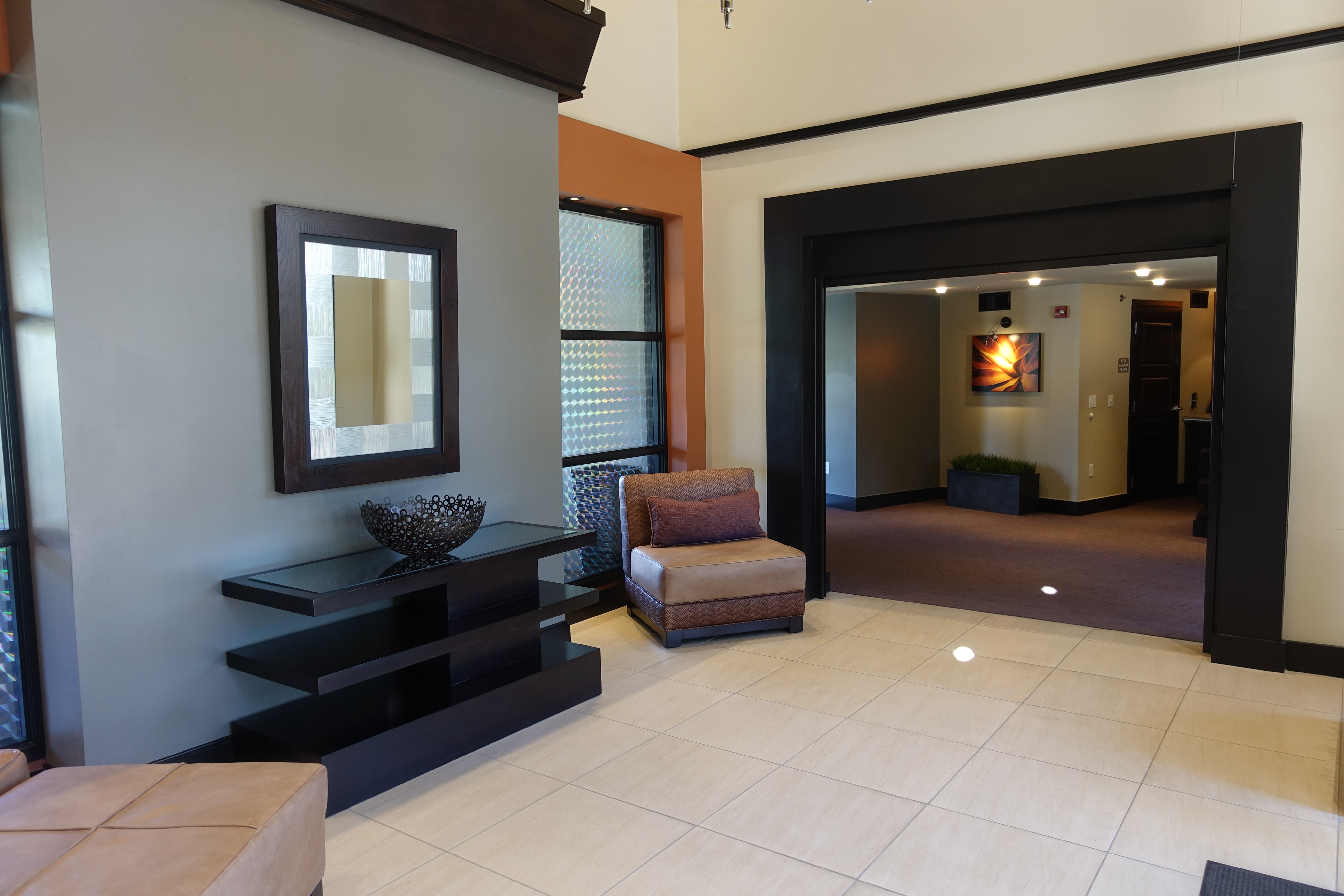The Landmark condo main foyer and lobby