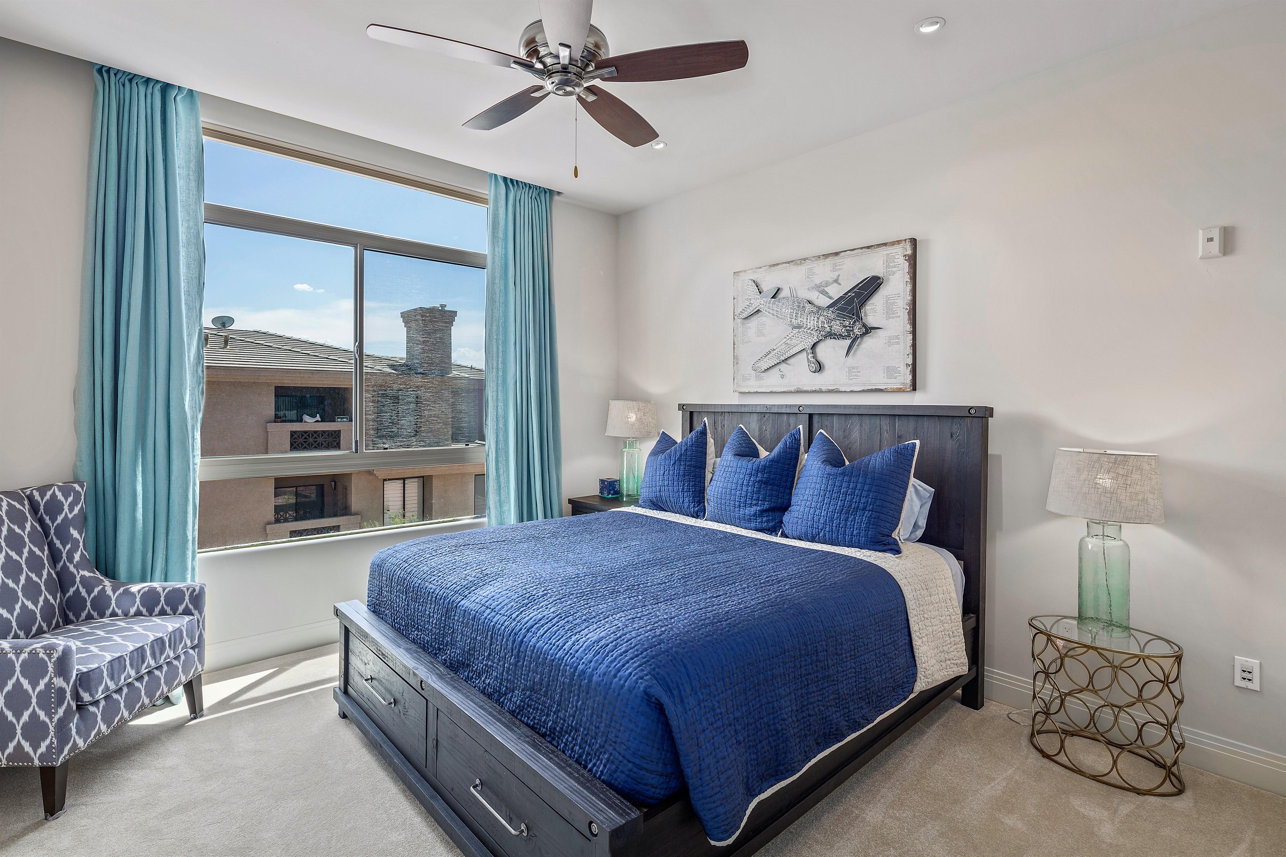 Landmark Unit 354 Master Bedroom