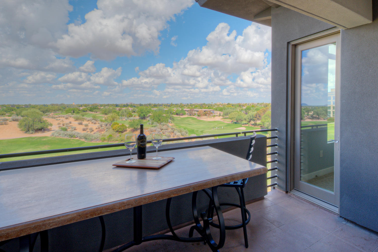 Landmark Scottsdale Condo Balcony 603