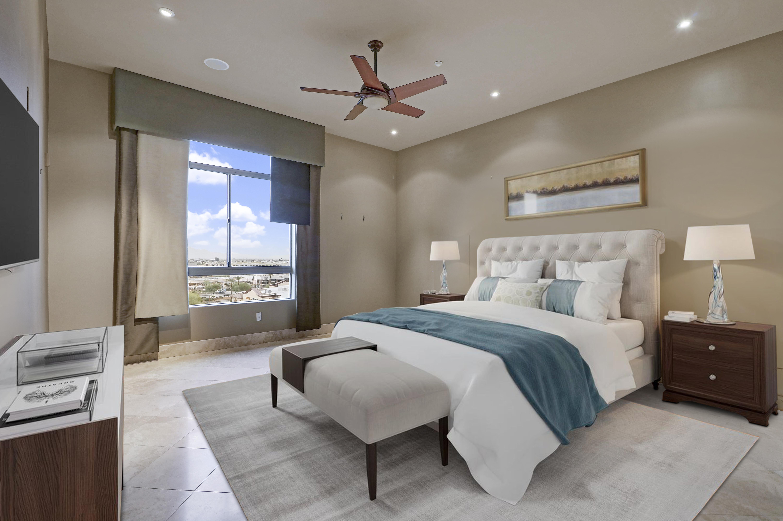 Landmark Condominium Unit 754 Master Bedroom