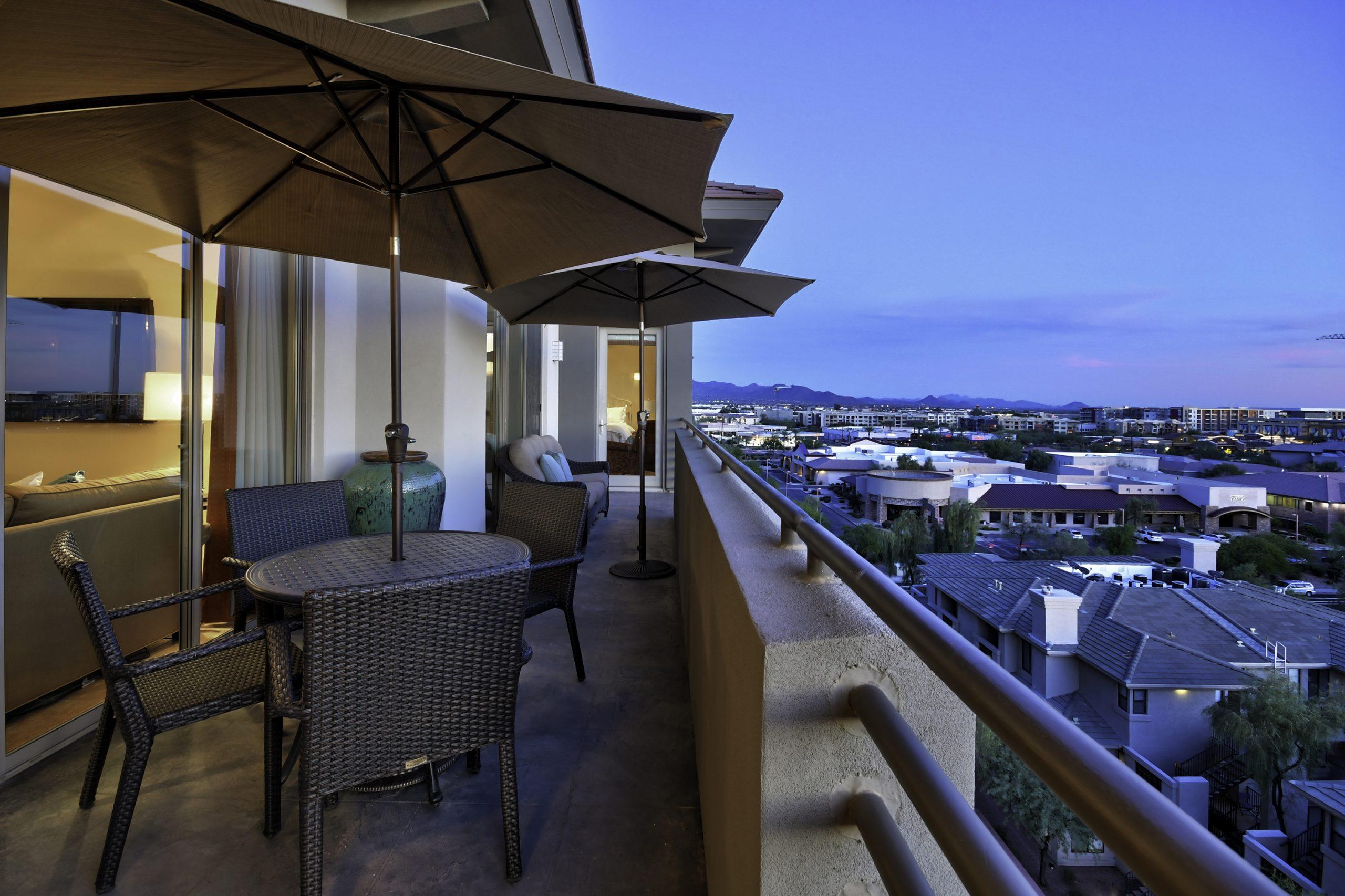 The Landmark Condominium Unit 752 Main Balcony