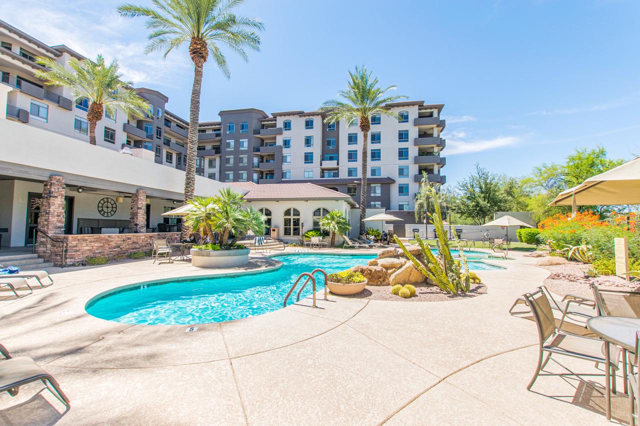 The Landmark Condominium Community Pool