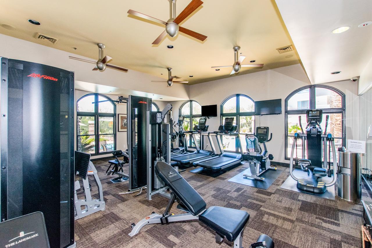 The Landmark Condo Community Gym